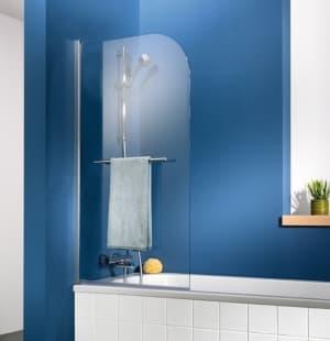 Шторка на ванну неподвижная Perfect House Solo 600х1500мм прозрачное