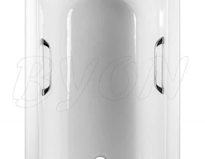 Ванна чугунная BYON 13 - 1500x700x420 хром ручки V0000218 150x70 прямоугольная