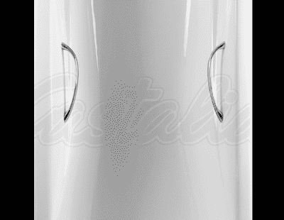 """Ванна чугунная CASTALIA """"VENERA""""- 1800x800x420 с ручками Н0000007 180x80 прямоугольная"""