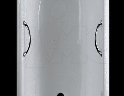 """Ванна чугунная TIMO """"STANDARD 3V""""- 1700x750x460 с ручками И0000010 170x75 прямоугольная"""