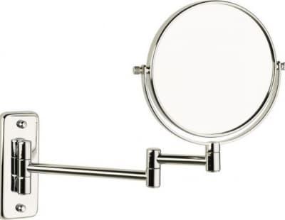 Sanibano, настенное круглое косметическое зеркало с 3-х кратным увеличением, цвет хром HE1306/CR