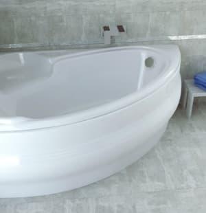 Акриловая ванна BESCO Finezja Nova 155 L
