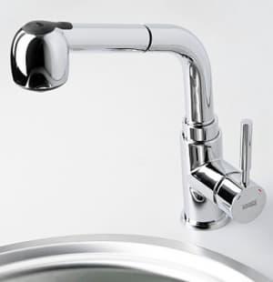Main 4166 Смеситель для кухни с выдвижной лейкой WasserKRAFT