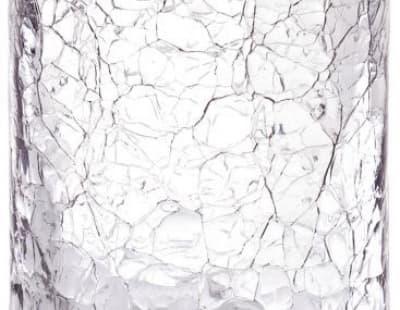 Surya Crystal, стакан, цвет золото - эффект битого стекла 6601/GO-CRD