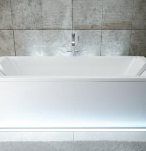 Акриловая ванна BESCO Quadro 180x80