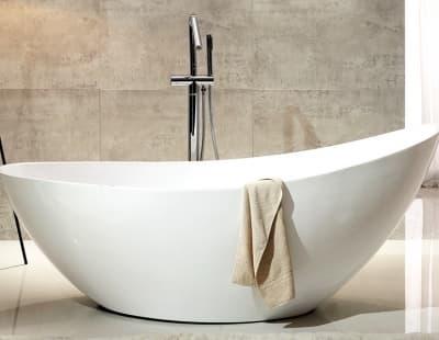Акриловая ванна Gemy G9233 184 овальная 184x79