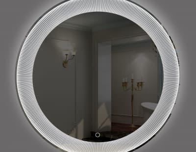 Зеркало с подсветкой круглое/ сенсорный вкл. арт. LT-RW8080-s
