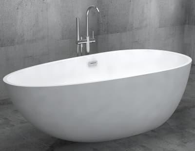 Акриловая ванна Gemy G9211 170 овальная 170x85