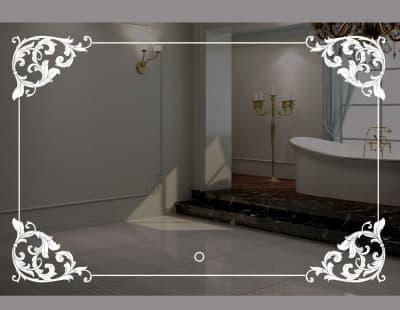 Зеркало с подсветкой/ сенсорный вкл. арт. LT-U11070-s
