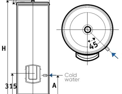 Водонагреватель накопительный Atlantic 200 FS 882138 электрический 200 литров