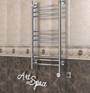 Электрический полотенцесушитель с функцией быстрой сушки ArtofSpace ARTICO EAAO400800ChromeRP