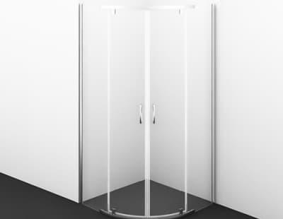 Leine 35P01 Душевой уголок, сектор, с распашными дверьми WasserKRAFT