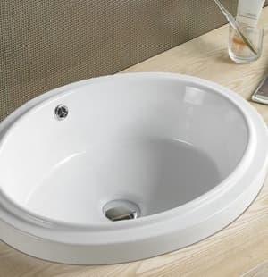Фигурная раковина для ванной MELANA MLN-505