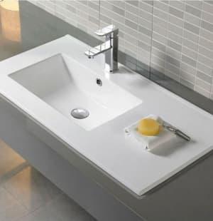 Раковина для ванной MELANA MLN-9080EL левая