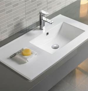 Раковина для ванной MELANA MLN-9080ER правая