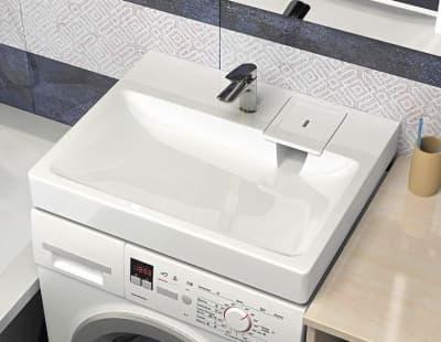 Раковина над стиральной машиной Bergg Адель V53