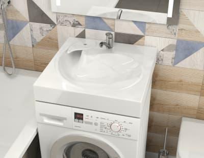 Раковина над стиральной машиной Bergg Лилия V60