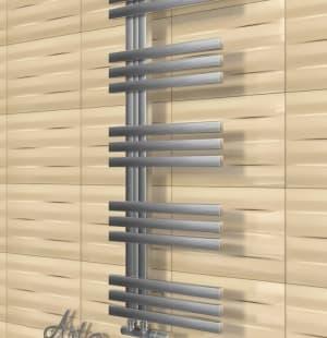 Полотенцесушитель ArtofSpace Quadro Slim WAQOS4001000Inox (левое и правое исполнение)