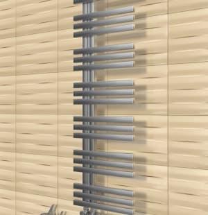 Полотенцесушитель ArtofSpace Quadro Slim WAQOS4001220Inox (левое и правое исполнение)