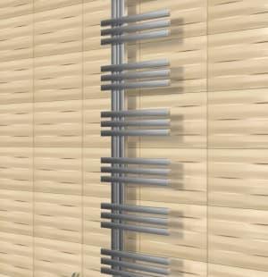 Полотенцесушитель ArtofSpace Quadro Slim WAQOS4001440Inox (левое и правое исполнение)