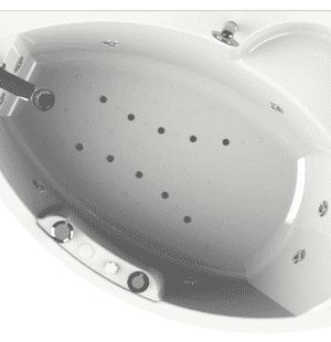 Гидромассажная ванна RADOMIR Лоуэл 168x120 R/L
