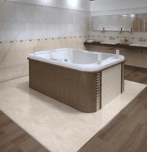 Гидромассажный бассейн RADOMIR Мишель 205x155