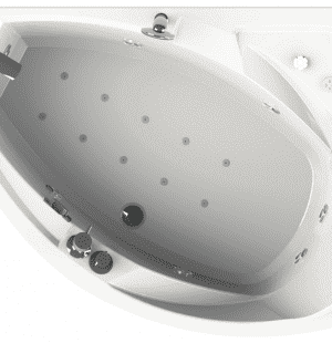 Гидромассажная ванна RADOMIR Фиеста 150x109 R/L