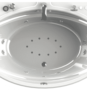 Гидромассажная ванна RADOMIR Лагуна 185x124