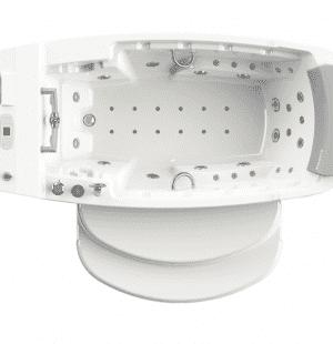 Гидроаэромассажная ванна RADOMIR Олимпия 250x115