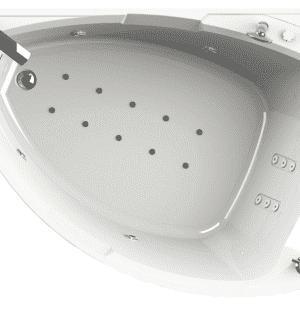 Гидромассажная ванна RADOMIR Астория 168х120 R/L