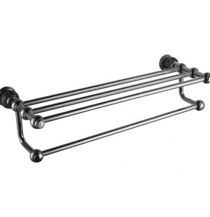 Полотенцедержатель с полочкой RADOMIR (CHROME)