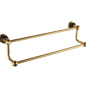 Полотенцедержатель двойной RADOMIR (GOLD)