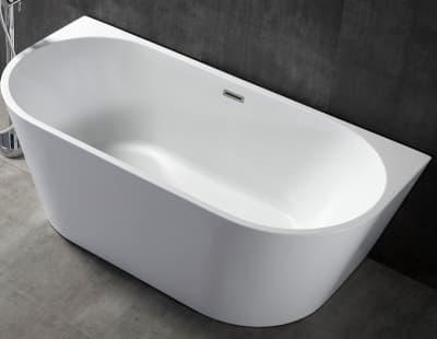 Акриловая ванна Gemy G9216 170 овальная 170x80
