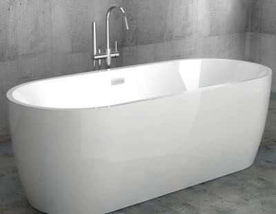 Акриловая ванна Gemy G9219 175,5 овальная 175,5x80