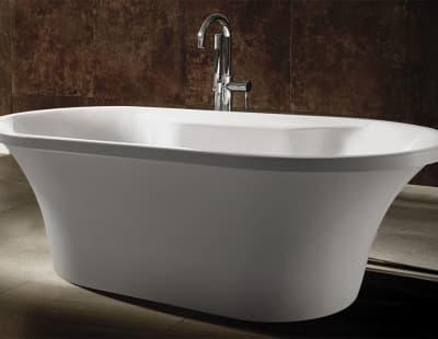 Акриловая ванна Gemy G9228 169 овальная 169x80