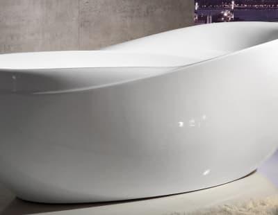 Акриловая ванна Gemy G9232 180 овальная 180x85,5