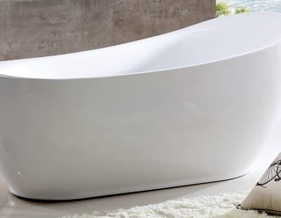 Акриловая ванна Gemy G9235 180 овальная 180x90