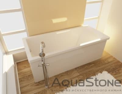 Ванна из литьевого мрамора Aquastone Армада 170x80 прямоугольная 170