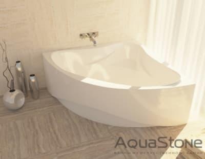 Ванна из литьевого мрамора Aquastone Флорида 135x135 угловая 135