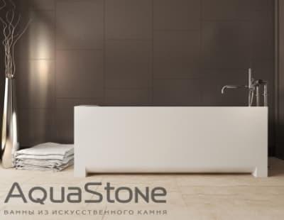 Ванна из литьевого мрамора Aquastone Квадро 180x80 прямоугольная 180