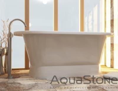 Ванна из литьевого мрамора Aquastone Венеция 175x80 овальная 175