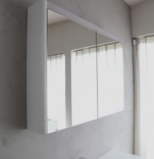 Зеркальный шкаф BelBagno BB1000BMS/TL, Tortora Lucido