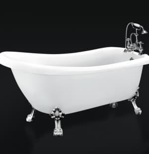 Ванна акриловая отдельностоящая BELBAGNO BB20-CRM 1700