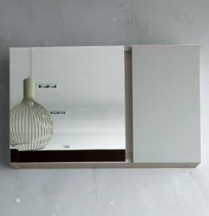 Зеркальный шкаф BelBagno BB800PAC, Bianco Lucido