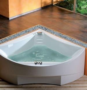 Акриловая ванна ALPEN BERMUDA 165x165 29219