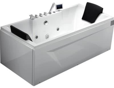 С гидромассажем акриловая ванна Gemy G9065 K R 175 прямоугольная 175x85