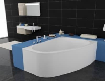Акриловая ванна Kolpa-San Chad 170X120 L асимметричная 170 левая