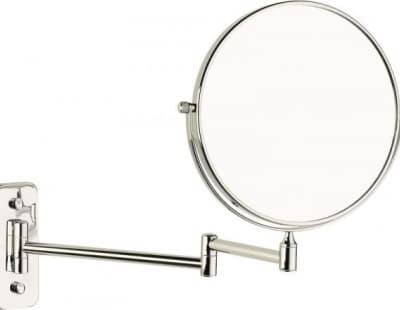 Sanibano, настенное круглое косметическое зеркало с 5-и кратным увеличением, цвет хром HE260/CR