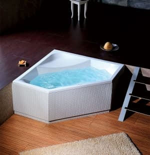 Акриловая ванна ALPEN FLOSS 145x145 8611