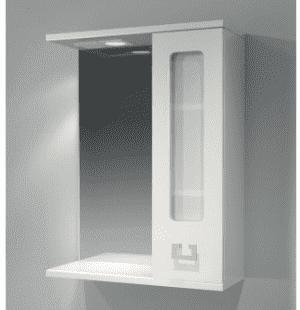 Зеркало-шкаф Kaksa Витраж 55 с подсветкой
